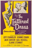 The Tattered Dress movie poster (1957) picture MOV_5a5ccc54