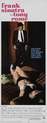 Tony Rome movie poster (1967) poster MOV_5a650e18
