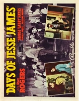 Days of Jesse James movie poster (1939) picture MOV_5a79f640