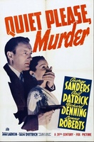 Quiet Please: Murder movie poster (1942) picture MOV_5a8c4f28