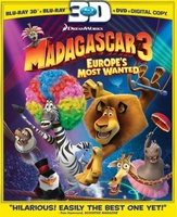 Madagascar 3: Europe's Most Wanted movie poster (2012) picture MOV_5a9da961