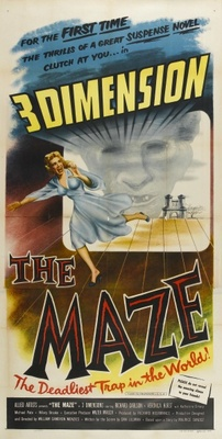 The Maze movie poster (1953) poster MOV_5ab2a93f