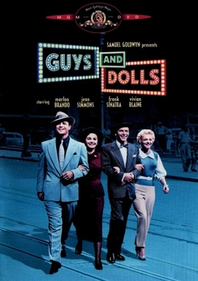 Guys and Dolls movie poster (1955) poster MOV_5abec2c9
