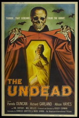 The Undead movie poster (1957) poster MOV_5acf43a7