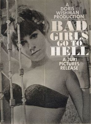 Bad Girls Go to Hell movie poster (1965) poster MOV_5afca4c0