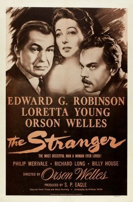 The Stranger movie poster (1946) poster MOV_5b0debe0
