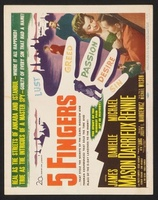 5 Fingers movie poster (1952) picture MOV_5b136853