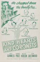 Kind Hearts and Coronets movie poster (1949) picture MOV_5b151ba2