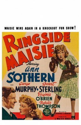 Ringside Maisie movie poster (1941) poster MOV_5b33fe1c