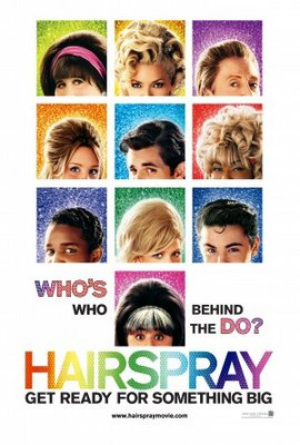 Hairspray movie poster (2007) poster MOV_5b771cb2