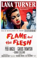 Flame and the Flesh movie poster (1954) picture MOV_5b7a4ef6