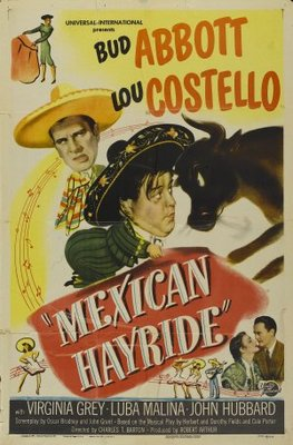 Mexican Hayride movie poster (1948) poster MOV_5b811c3f