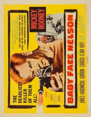 Baby Face Nelson movie poster (1957) poster MOV_5b821161