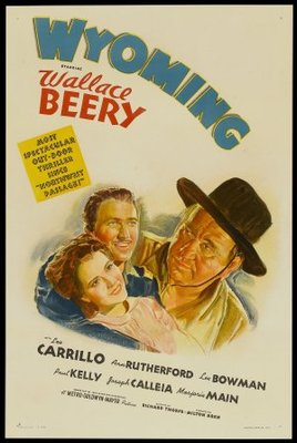 Wyoming movie poster (1940) poster MOV_5b8c6617
