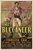 The Buccaneer movie poster (1938) picture MOV_02dbcfba