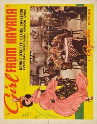 Girl from Havana movie poster (1940) poster MOV_5b9d6e9f