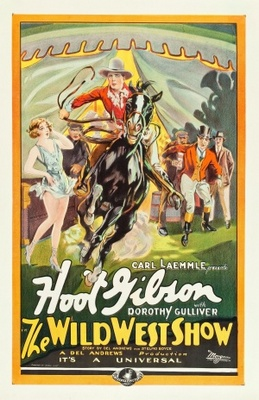 The Wild West Show movie poster (1928) poster MOV_5ba1cc4c