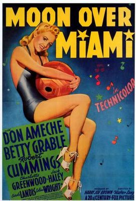 Moon Over Miami movie poster (1941) poster MOV_5ba7f68c