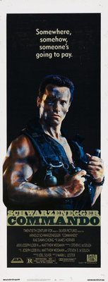 Commando movie poster (1985) poster MOV_5bb2c7ae