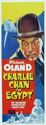Charlie Chan in Egypt movie poster (1935) poster MOV_5bbdd4ef