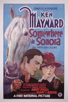 Somewhere in Sonora movie poster (1927) picture MOV_5be86afc