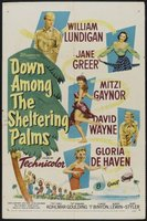 Down Among the Sheltering Palms movie poster (1953) picture MOV_5bf32cf9