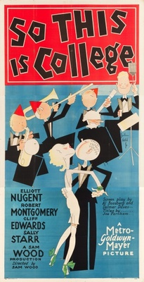 So This Is College movie poster (1929) poster MOV_5bf964d0
