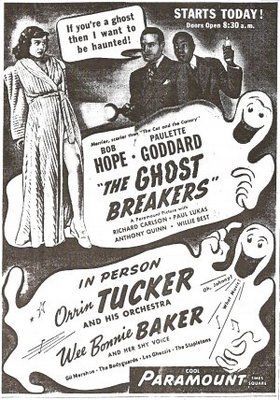 The Ghost Breakers movie poster (1940) poster MOV_5c1ebf48