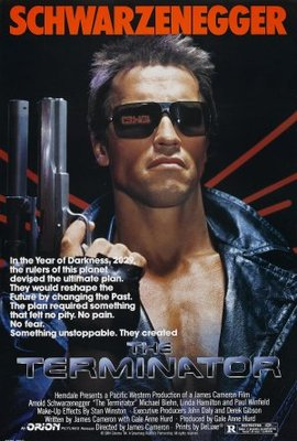 The Terminator movie poster (1984) poster MOV_5c23bc09