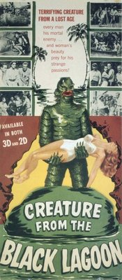 Creature from the Black Lagoon movie poster (1954) poster MOV_5c3e5958