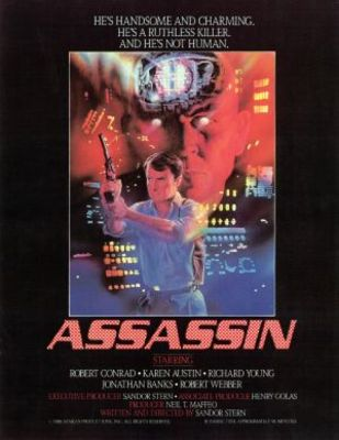 Assassin movie poster (1986) poster MOV_5c40fff5