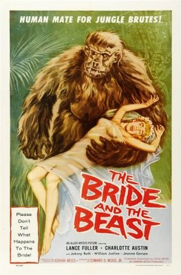 The Bride and the Beast movie poster (1958) poster MOV_5c4ba133