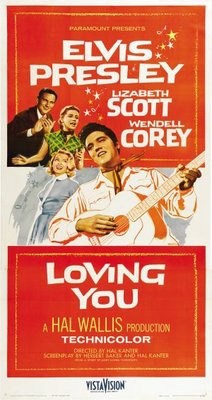 Loving You movie poster (1957) poster MOV_5c53f759