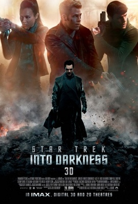 Star Trek Into Darkness movie poster (2013) poster MOV_5c62d2cd
