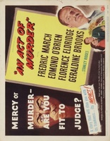 An Act of Murder movie poster (1948) picture MOV_5c6671a6