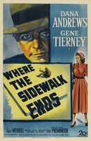 Where the Sidewalk Ends movie poster (1950) picture MOV_5c67b50b