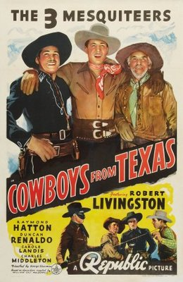 Cowboys from Texas movie poster (1939) poster MOV_5c6d6134
