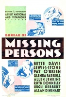 Bureau of Missing Persons movie poster (1933) picture MOV_5c797320