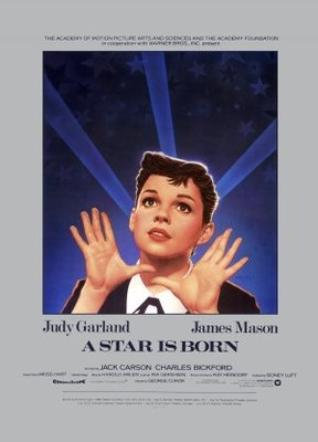 A Star Is Born movie poster (1954) poster MOV_5cac6f87