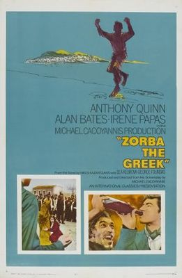 Alexis Zorbas movie poster (1964) poster MOV_5cc5e4e5