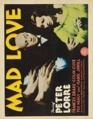Mad Love movie poster (1935) poster MOV_5ccee8fb