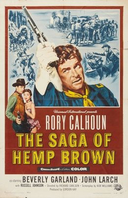The Saga of Hemp Brown movie poster (1958) poster MOV_5cdac328