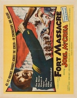 Fort Massacre movie poster (1958) picture MOV_5cdb9614