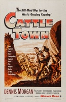 Cattle Town movie poster (1952) picture MOV_5cde13f8