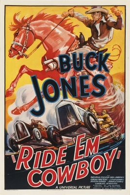 Ride 'Em Cowboy movie poster (1936) poster MOV_5cf0b0be