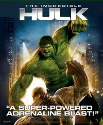 The Incredible Hulk movie poster (2008) poster MOV_5d059763