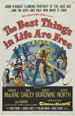 The Best Things in Life Are Free movie poster (1956) poster MOV_5d214bd2