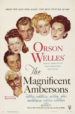 The Magnificent Ambersons movie poster (1942) poster MOV_5d2a218c