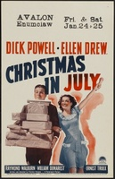 Christmas in July movie poster (1940) picture MOV_5975b704