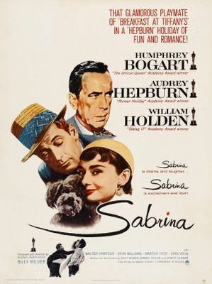 Sabrina movie poster (1954) poster MOV_5d3d39b9